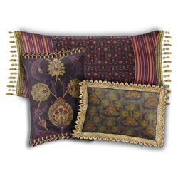 Folk Flower coordinating pillows