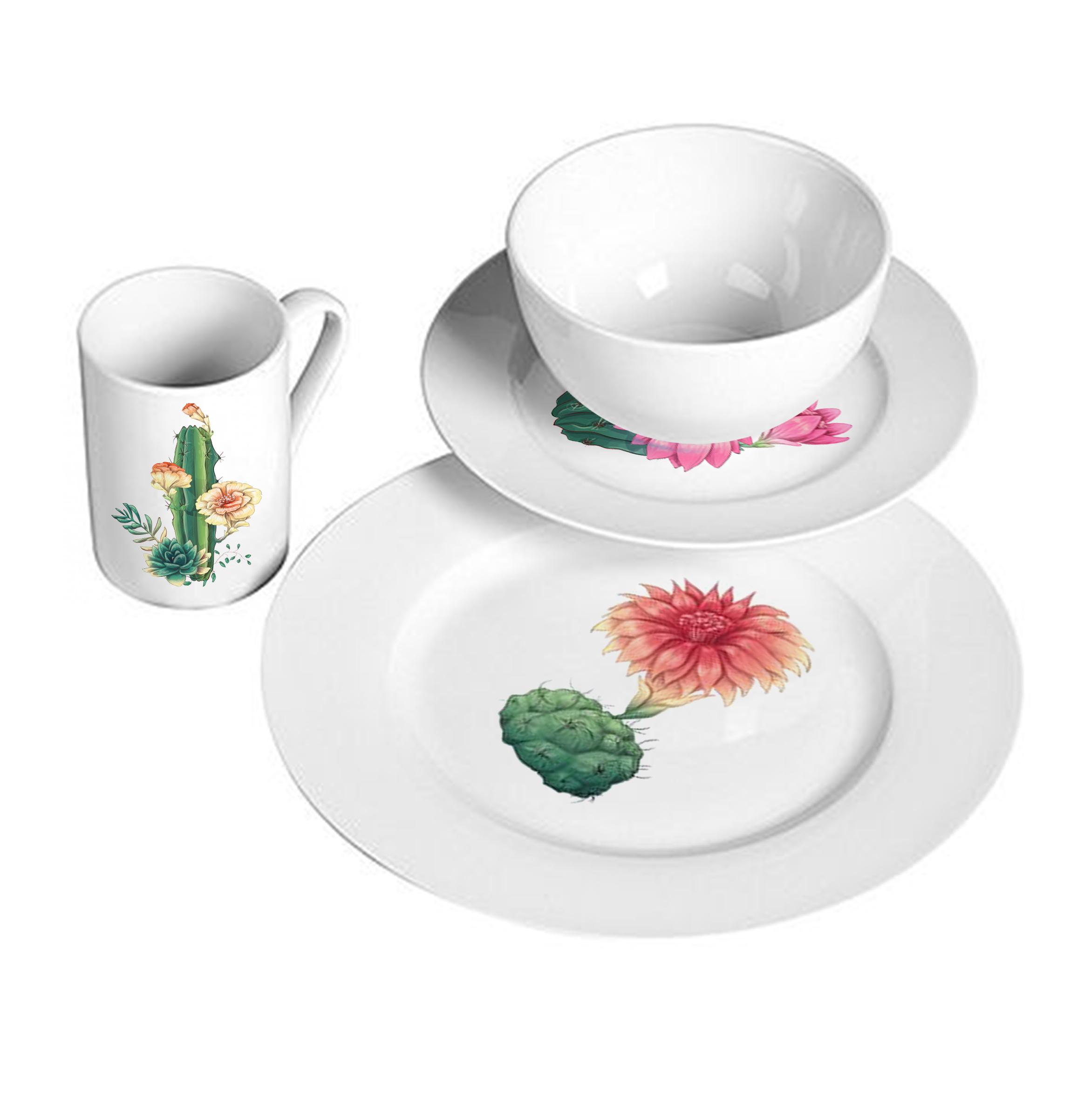 cactus cup set