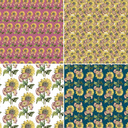 sunflower coordinating