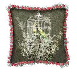 Farmhouse Floral pillow
