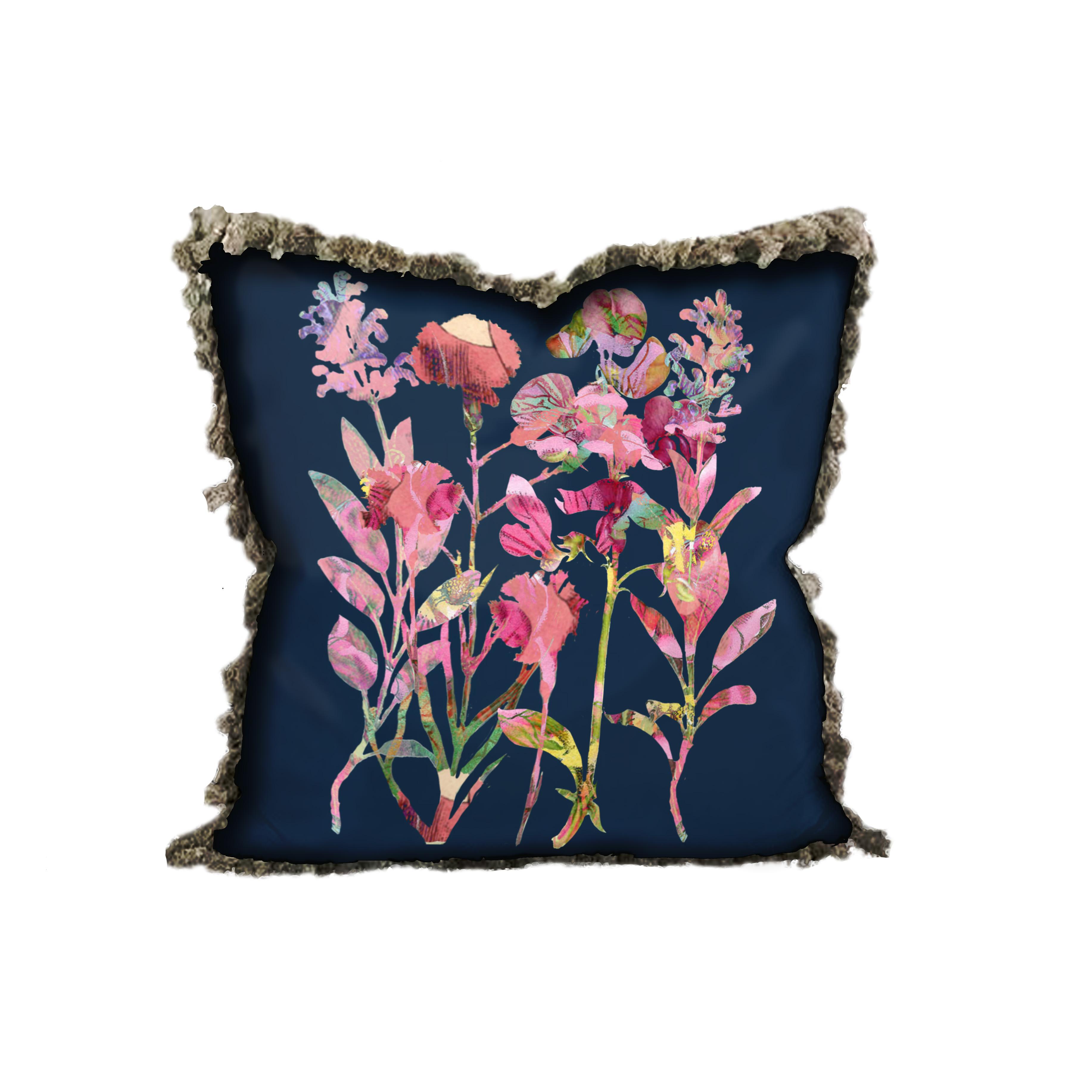 floral mix 2 pillow