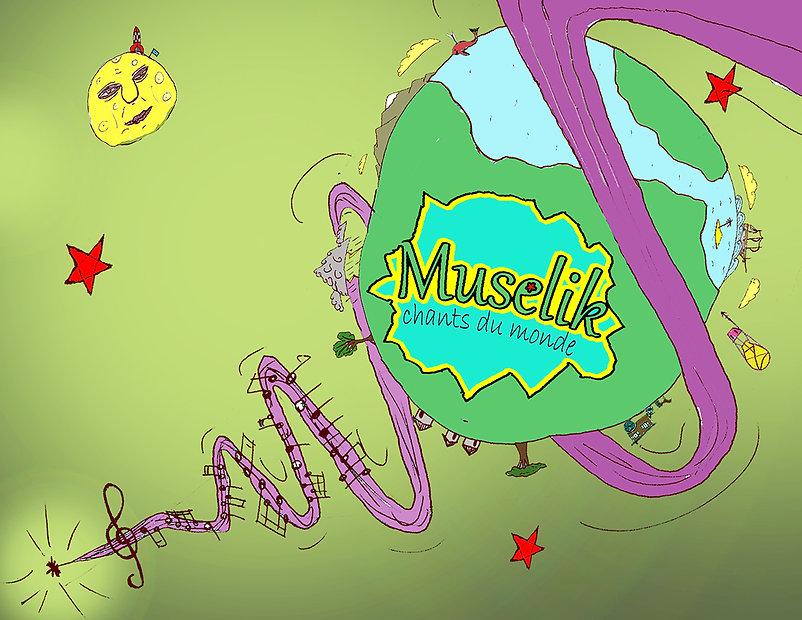 Projet Affiche Muselik Couleur - paysage