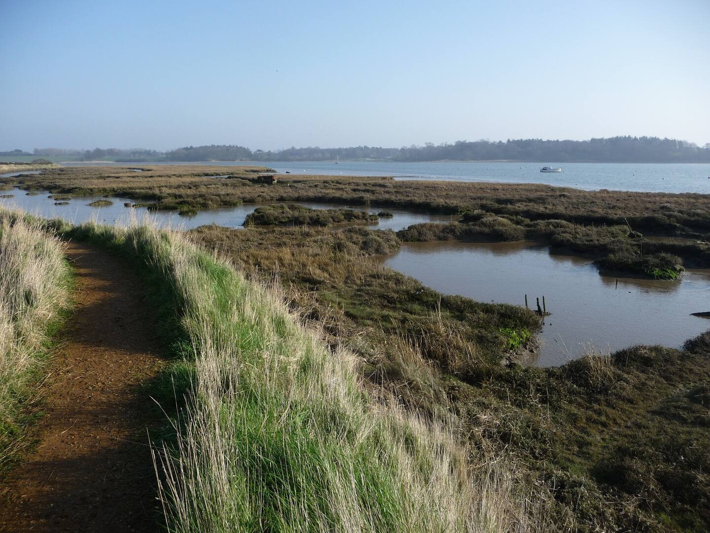 Views of the River Deben estuary