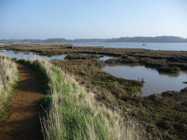 Views of the River Deben estuary