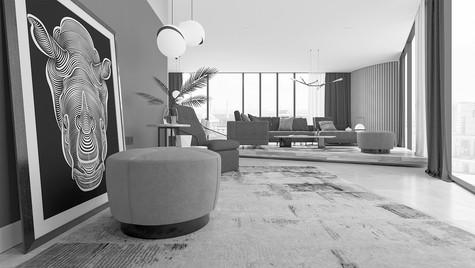 Interior Design Proposal for Mahall Ankara Divan Residence