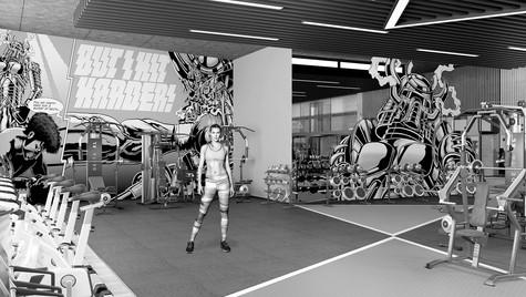 Athletica Sports Interior Design