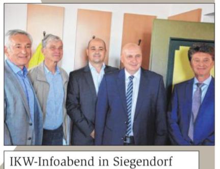 IKW- Infoabend in Siegendorf