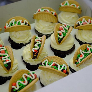 Tacos cupcake by _huynhnhi1506 🌮🌮🌮🌮🌮_#tacos #tacoslover #tacos🌮