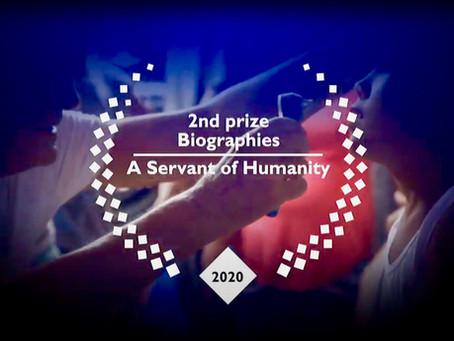 """Awards für den """"Diener der Menschheit"""""""