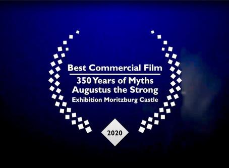 """Mythos August ist """"Bester Werbefilm"""""""