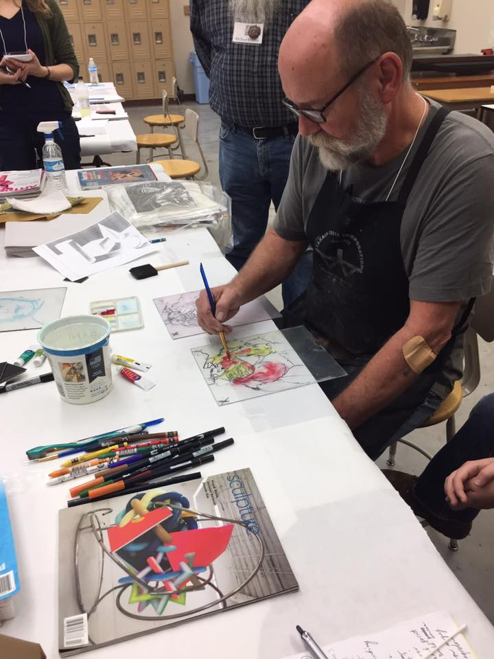 Gordon Sherman Printmaking Workshop