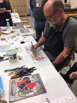 Gordon Sherman Printmaking Workshop