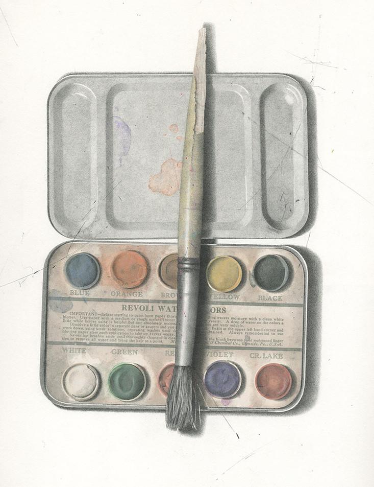 Revoli Paint Box Open, Brian Merriman