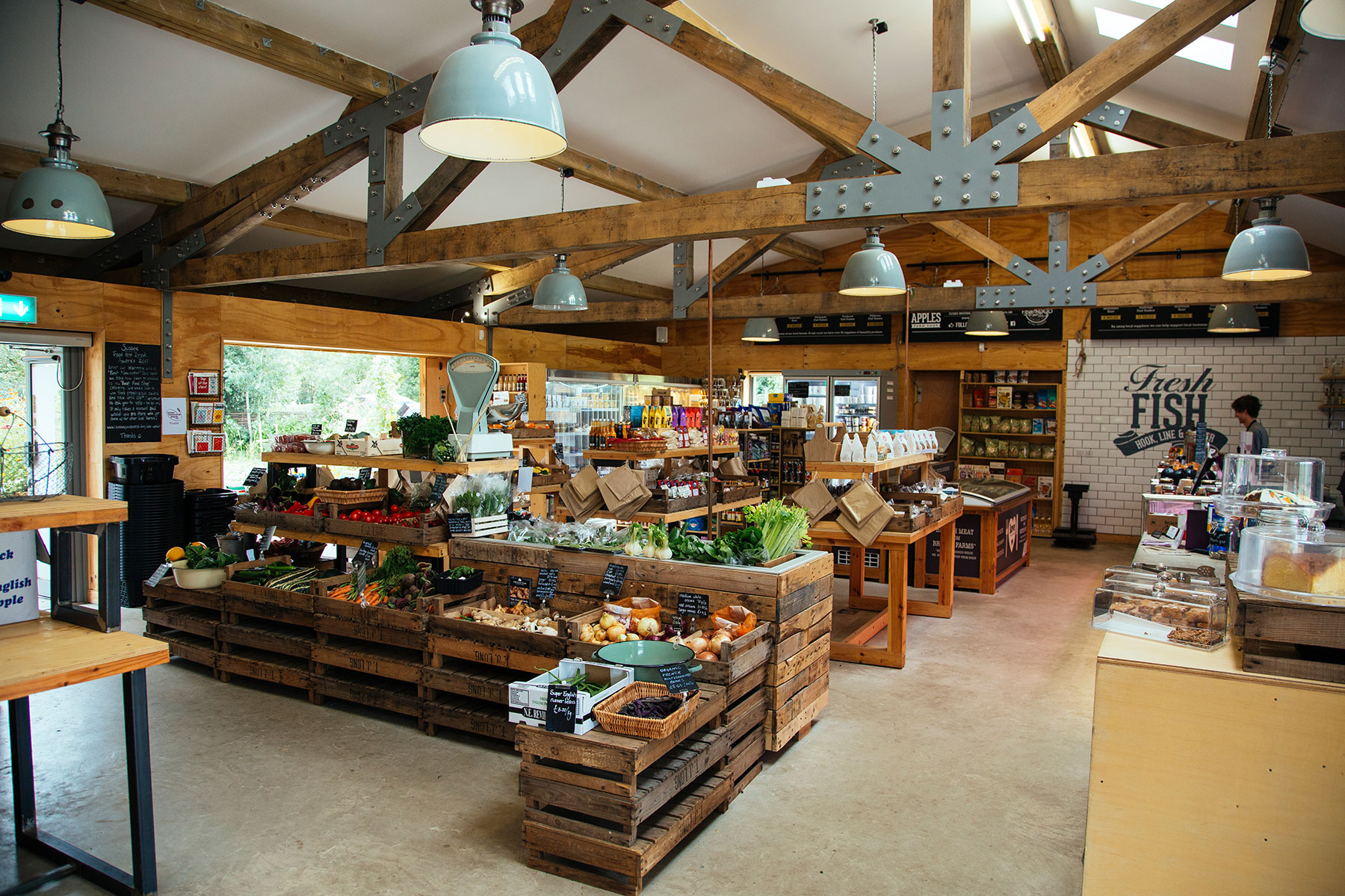 Eggs to Apples farm shop