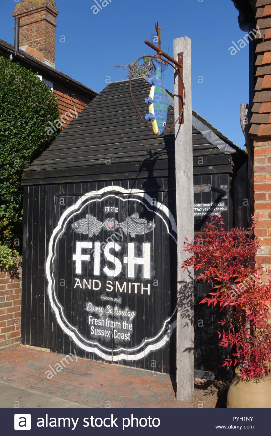 Fish and Smith fresh fish Ticehurst