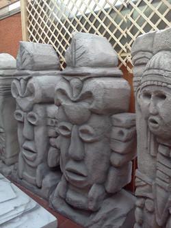 Escultura Estatuas Maya