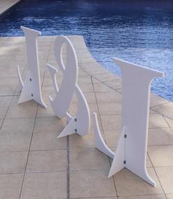letras para bodas gigantes