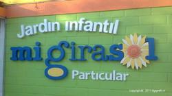 Letras y Logo Jardín Infantil