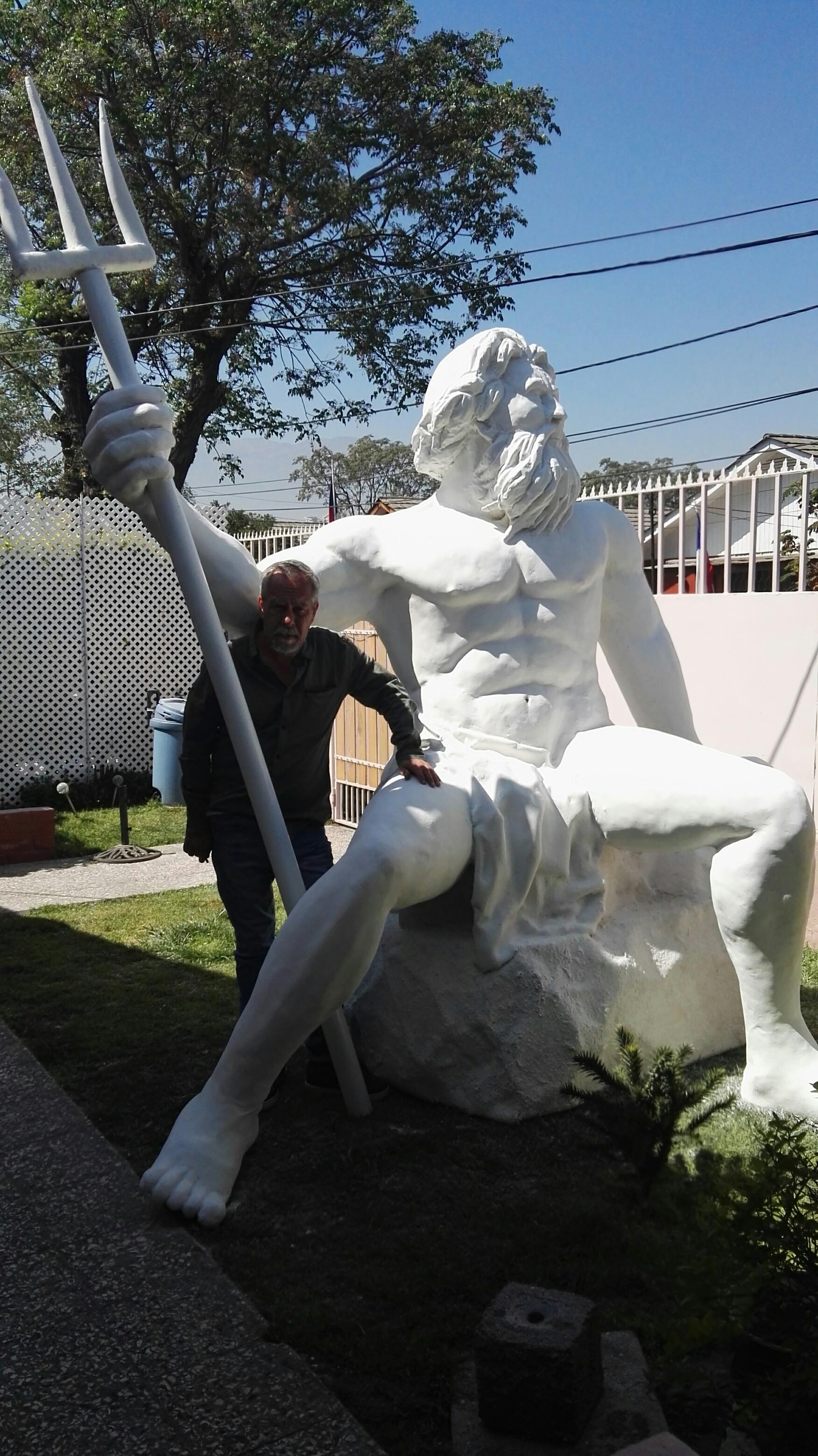 Escultura Poseidon