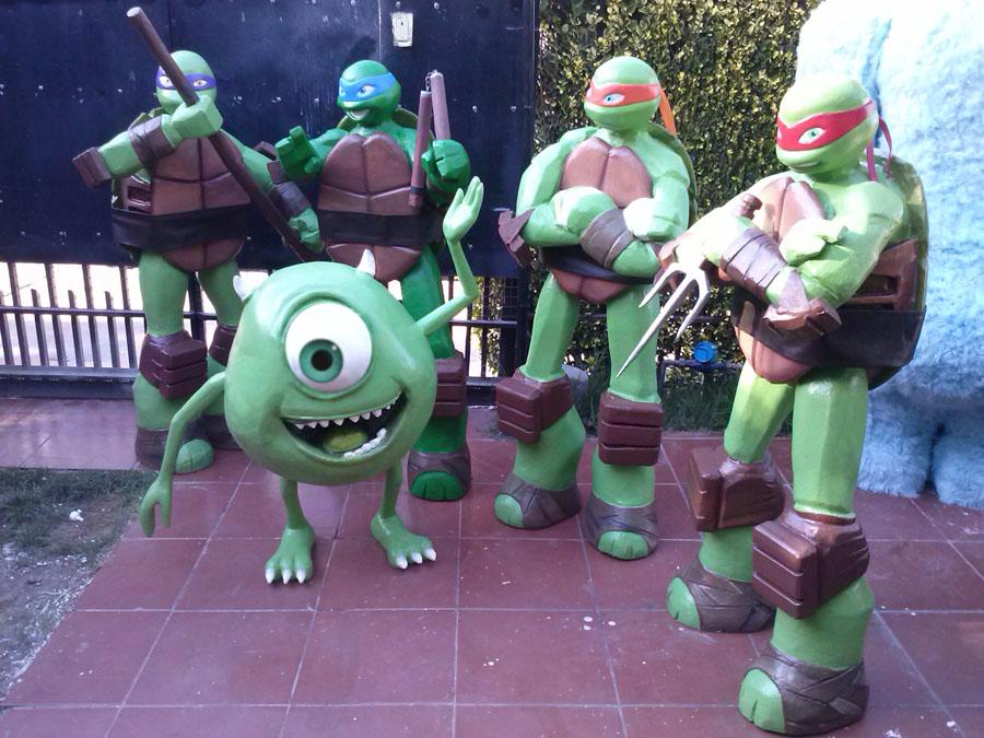 Ficticios de Tortugas Ninja