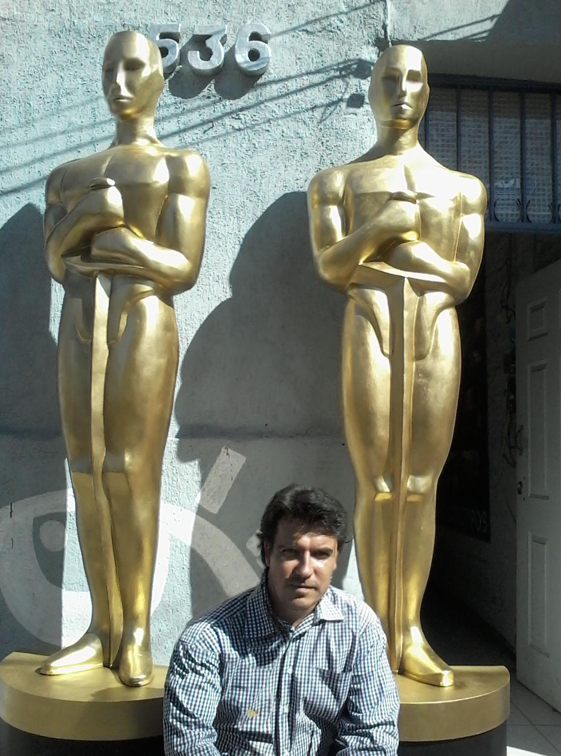Replicas de Oscar gigante