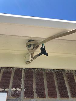 Poor Electrical Wiring to Garage