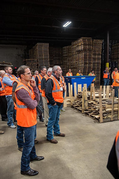 NWPCA tour at Madison County Wood Products - Fredericktown- MO