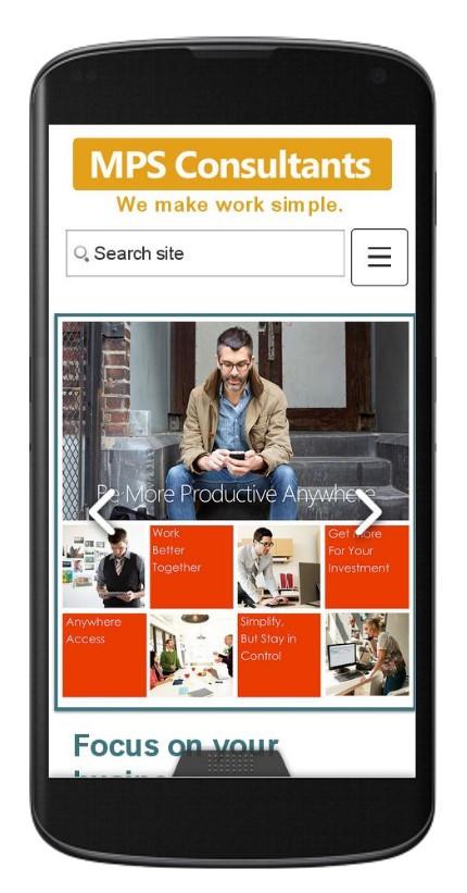 全新HTML5一站式網站解決方案