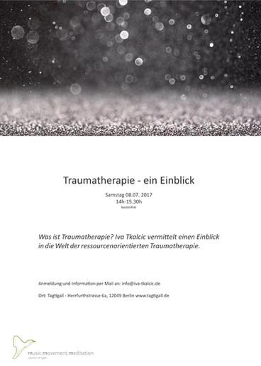Traumatherapie - Ein Einblick