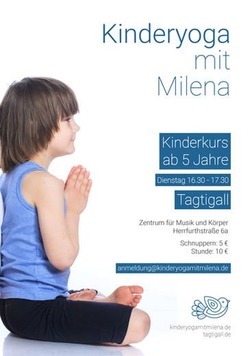 KINDER YOGA mit Milena