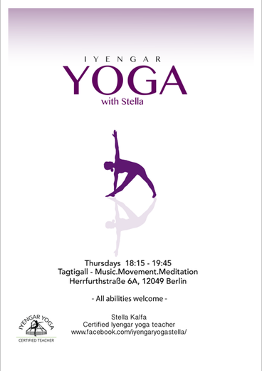 IYENGAR YOGA with Stella