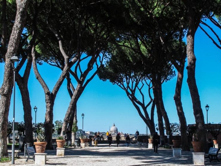 Parque Savello, Jardín de los Naranjos o Giardino degli Aranci