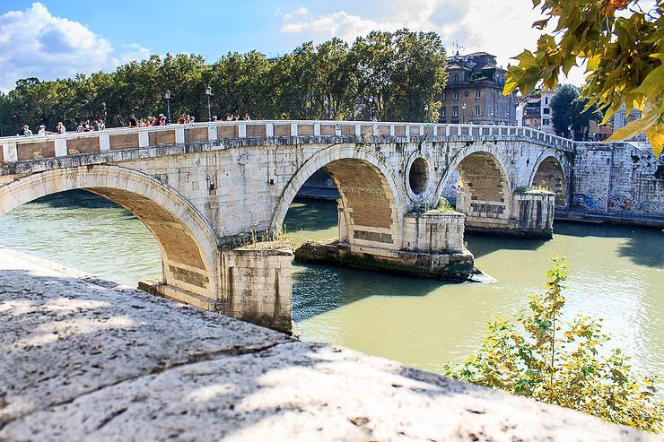 Ponte Sisto o Ponte Rotto en el Lungotevere