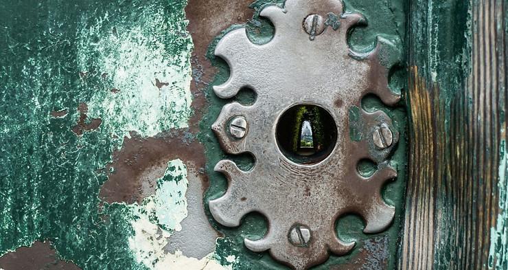 Cerradura de la puerta dei Cavalieri di Malta
