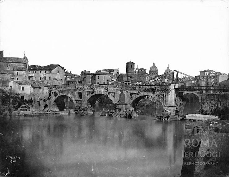 Puente Rotto antes