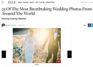 Wil je ook je eigen trouwjurk ontwerpen? Kijk deze adembenemende bruid.