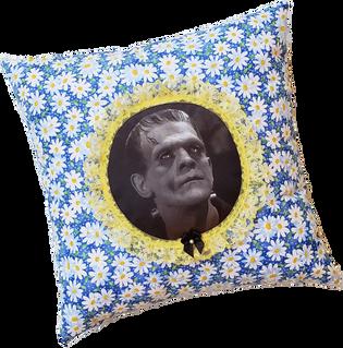 Monster Daisy Pillow