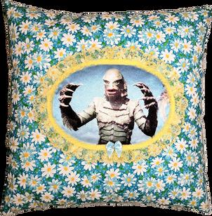 Creature Daisy Pillow