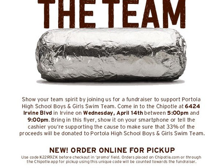 Eat Out at Chipotle 4/14