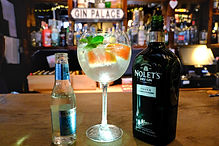 nolets gin & fever tree tonic