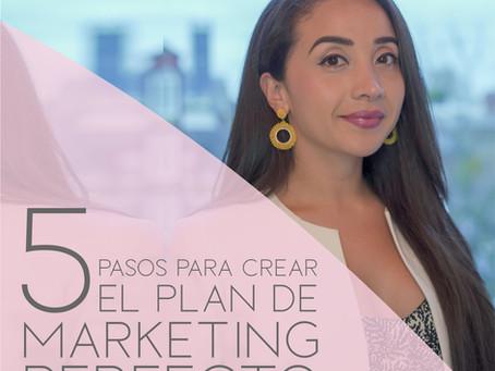 5 pasos para crear el Plan de Marketing perfecto