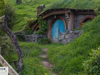 HOBBITON Movie Set / Matamata New Zealand