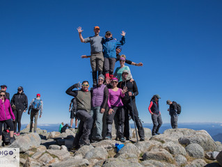 A Trek to the Roof Top of Australia While Summiting 11 of Australia's Highest Peaks