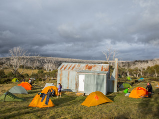 Jagungal Wilderness Huts Kosciuszko National Park 68kms 4 days -