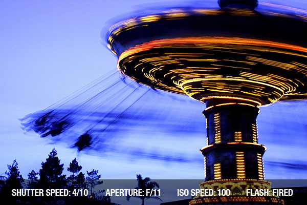 Speed v Motion/ blur