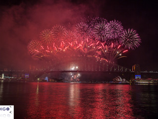 Sydney's New Years Eve Fireworks 16/17