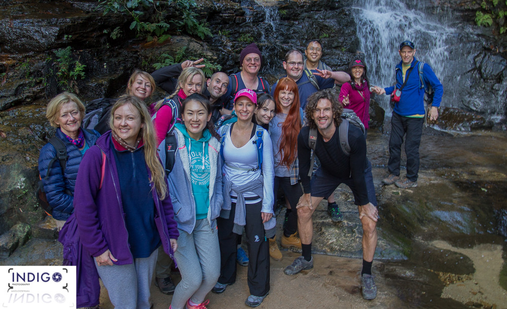 A Awesome Group to Lead for the day through the Valley of the Waters