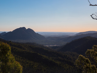 The Breadknife / Grand High Tops & Split Rock - Warrumbungles National Park