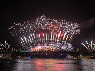 New Year's Eve Fireworks Sydney Harbour