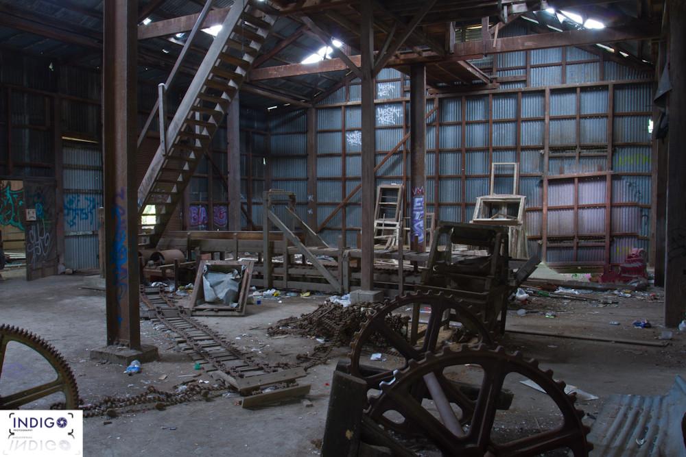 The once mechanics shed